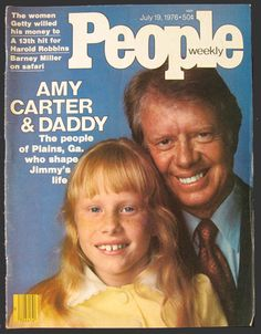 1976 People Magazine Cover ~ Jimmy Carter/Amy Carter