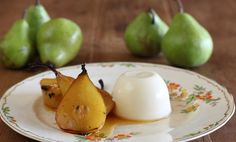 Saffron Roasted Pears with Verjuice Panna Cotta - Maggie Beer, a Barossa Food Tradition