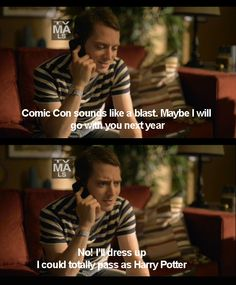 Haha oh elijah... that's why I love him #wilfred :)