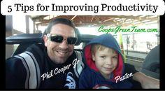 5 Tips to improve productivity