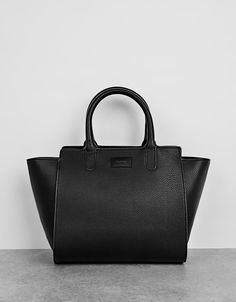 Winged Medium Tote Bag from Bershka £24,99