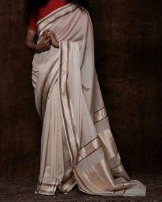 THE SARI   The Maya sari in ivory by @swatiandsunaina. Thank you for generously donating it to support our #sariproject.  #swatiandsunaina #handloom #maya #ivory #limitededition #heirloom #textile #thesariproject #saridrapes #comingsoon #sari #saree #borderandfall #drapes #drape #image: @swatiandsunaina