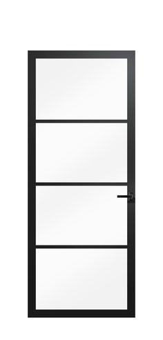 Onze Berkvens mat zwarte binnendeuren collectie staat live! Dit zijn onze glasdeuren Berkolight. Bookcase, Shelves, Furniture, Home Decor, Shelving, Decoration Home, Room Decor, Book Shelves, Shelving Units