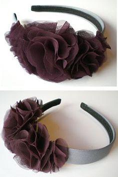 great headband tutorial.