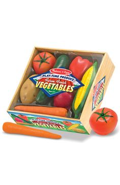 Melissa & Doug Play Time Produce Crate | Nordstrom