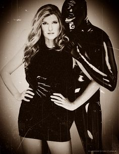 American Horror Story: Murder House. The creeper in the black leather suit.
