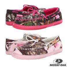 Mossy oak camo shoes