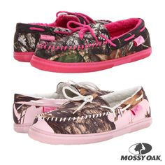 Mossy oak camo shoes