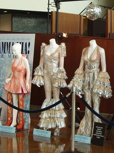 Abba costumes from the movie Mamma Mia