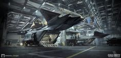 ArtStation - Call of Duty Infinite Warfare - Retribution Flight Deck, Mike Hill