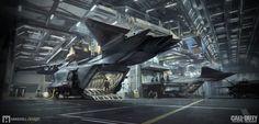 ArtStation - Call of Duty Infinite Warfare - Retribution Flight Deck, Mike Hill