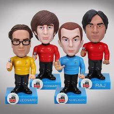 The Big Bang Theory al estilo Star Trek