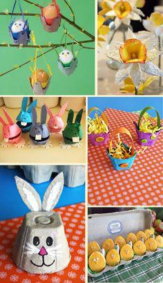 Manualidades de pascua hechas con cajas de huevos Toddler Activities, Snowman, Disney Characters, Diy, Easter Crafts, Craft Tutorials, Crafts To Make, Recycled Crafts, Creative Crafts