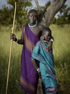 Marege & Narugo - Mursi tribe http://www.kenhermann.com/the-beauty-of-the-omo-valley