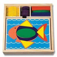 Beginner Pattern Blocks and thousands more of the very best toys at Fat Brain Toys. Independent discovery for little learners! Beginner pattern blocks prompt kids to explore colors, shapes, matching and sorting. Toddler Toys, Baby Toys, Kids Toys, Toddler Playroom, Learning Toys, Early Learning, Wooden Pattern, Wooden Storage Boxes, Activity Toys