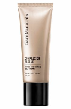 I want to try this, it would be sheer coverage and not heavy. Main Image - bareMinerals® Complexion Rescue™ Tinted Hydrating Gel Cream