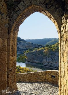 Minerve in Languedoc Roussillon, France.