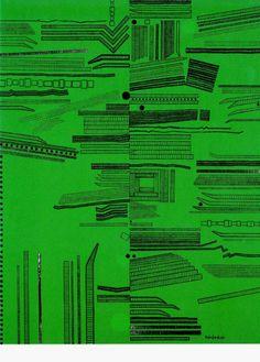 The City (Green No.4) 1968 Genichiro Inokuma