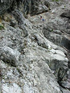 Lechtal - Bretterspitze afdaling naar Häselgehr