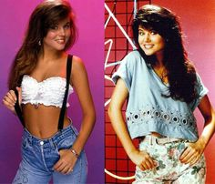 Kelly Kapowski, Saved by the Bell  she is gorgeous!