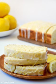 Glazed Lemon Bread Really nice recipes. Every hour. Show me what  Mein Blog: Alles rund um Genuss & Geschmack  Kochen Backen Braten Vorspeisen Mains & Desserts!
