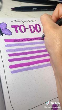 Bullet Journal Cover Ideas, Bullet Journal Banner, Bullet Journal Lettering Ideas, Bullet Journal Notebook, Bullet Journal School, Bullet Journal Inspiration, School Organization Notes, Bullet Journal Aesthetic, Lettering Tutorial