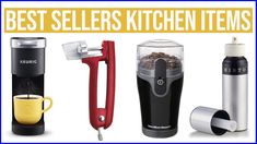 ✅ 17 Best Sellers Kitchen Items 2020 | Best Sellers | Kitchen Items | Mu... New Kitchen Gadgets, Kitchen Tops, Keurig, Can Opener, Best Sellers, Canning, Kitchen Desks, Home Canning, Conservation