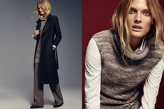 Constance Jablonski stars in Massimo Dutti fall-winter 2015 collection Photoshoot