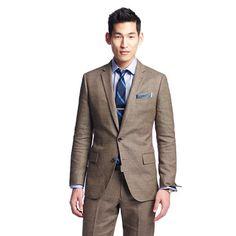 Ludlow suit jacket with double vent in Italian linen-cotton - suiting - Men's new arrivals - J.Crew