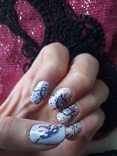 Carnival nails.