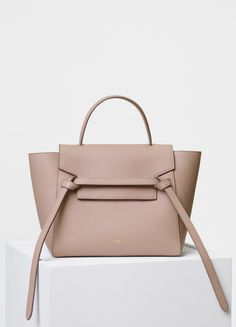 01d9a2b7896c Micro Belt bag in grained calfskin - Céline Celine Bag