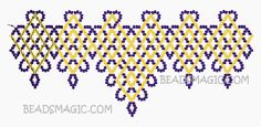 Free pattern for necklace Greece | Beads Magic