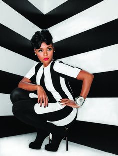 "Janelle Monae covers Uptown Magazine ""The Holiday Issue"" photographed by Marc Baptiste."