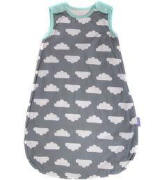 Mama Designs Babasac Multi Tog Sleeping Bag - Grey Cloud Turquoise 0-6 Months