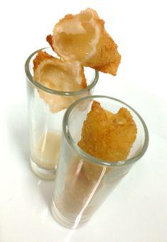 dosyemas - Croqueta líquida de queso