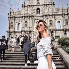 Ruins of St. Picture Poses, Photo Poses, Photography Poses Women, Travel Photography, Macau Travel, Travel Pictures Poses, Hong Kong Fashion, Good Poses, Sao Paulo