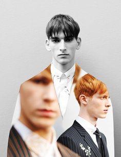 UNCONVENTIONALS -Dior Homme fw14 Backstage Photography: Adrien DirandArtworks:Nicolas Santos