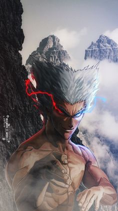 #onepunchman #onepunchmanmanga #animeart #manga #garou #art #edit #saitama #photoshop One Punch Man 2, Saitama One Punch Man, One Punch Man Manga, Anime Nerd, Anime Guys, Wizyakuza Anime, Wallpaper Naruto Shippuden, Naruto Wallpaper, Naruto Fan Art