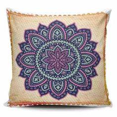 Cojin Decorativo Tayrona Store Mandala 55 - $ 43.900