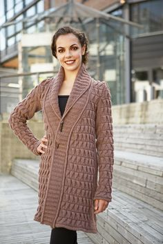 Ravelry: Conic Coat pattern by Linda Marveng