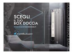 VISITA IL NOSTRO SITO www.acquistaboxdoccia.it  #ESPERIENZADOCCIA Box doccia / Piatti doccia / Idromassaggio