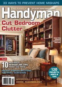 February 01, 2016 issue of Family Handyman