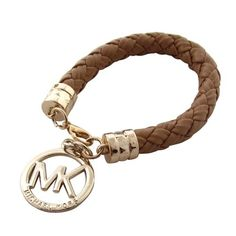 #accessories Michael Kors Braided Logo Brown Bracelets Sale For People In Cheap, Come To Buyone In Big Discount.