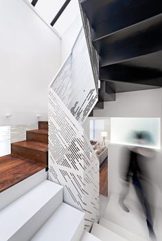 A perforated metal staircase is a great way to elevate interiors. Be inspired to step up your style with these top perforated metal staircase designs. Modern Stair Railing, Metal Stairs, Metal Railings, Stair Handrail, Staircase Railings, Modern Stairs, Railing Design, Staircase Design, Handrail Ideas