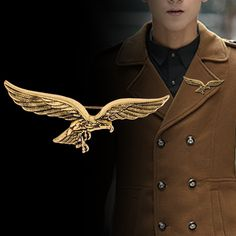 a9ddab3f710 Cheap Brooches, Buy Directly from China Suppliers:Korean Fashion New  Brooches Gold Eagle Wings Shape Brooch Scarf Buckle Lapel Metal Pin Badge  for Men Shirt ...