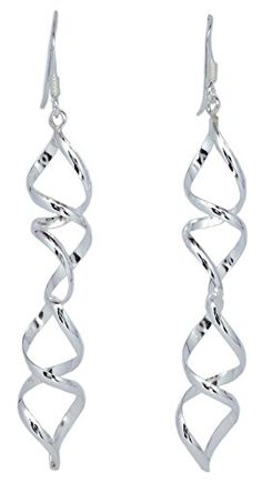 Connect Twist 925 Silver Dangle Earrings for Women's Fren... https://www.amazon.com/dp/B01IR615DY/ref=cm_sw_r_pi_dp_x_NGt-ybRDHDSMH