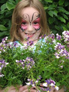 Face-Painted Girl
