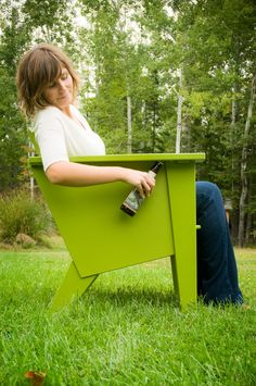 The Loll Designs Deck Chair - Bottle Opener included for your convenience :)