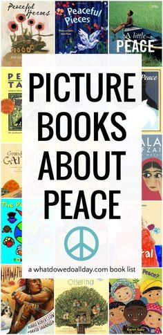 Picture books about peace for children.