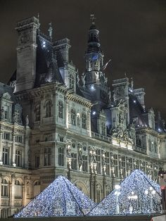 Christmas in Paris ... I don't necessarily want to be there for Christmas, but I definitely want to visit!